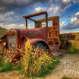 Old Timer Bannack Montana by Bob Christopher