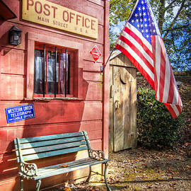 Old Timey Post Office by Debra and Dave Vanderlaan