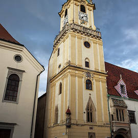 Artur Bogacki - Old Town Hall Tower in Bratislava