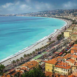 Old Town Nice and Promenade Des Anglais in the French Riviera by Liesl Walsh