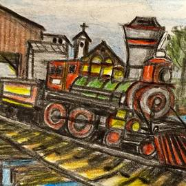Old Train by Larry Lamb
