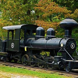 Old Train by TJ Baccari