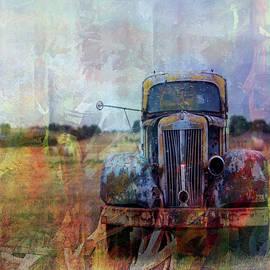 Old Truck in a Field by Grace Iradian