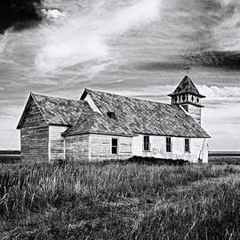 Old-tyme Church by Rikk Flohr