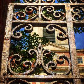 Joann Vitali - Old West Church Iron Gate - Boston