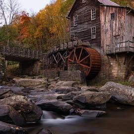 Glade Creek Mill Autumn Splendor by Norma Brandsberg