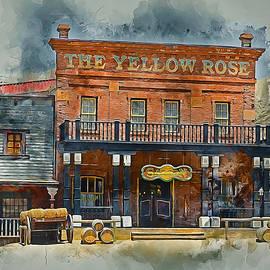 Ian Mitchell - Old Western Saloon Bar