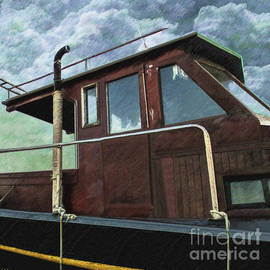 L Wright - Old Wood Boat