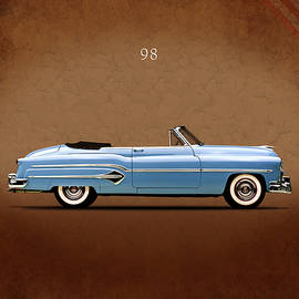 Oldsmobile 98 1951 by Mark Rogan