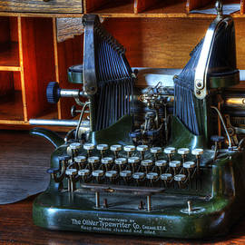 Oliver Typewriter by Bob Christopher