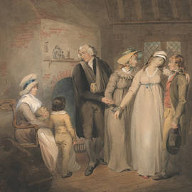 Olivia Returns to Her Family - Francis Wheatley