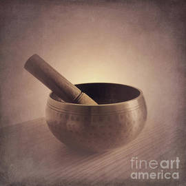 Om Singing Bowl by Chris Scroggins