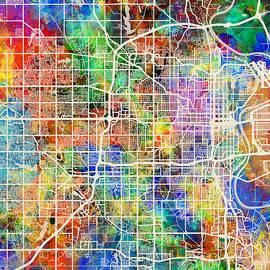 Michael Tompsett - Omaha Nebraska City Map