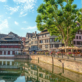 W Chris Fooshee - On a canal in Strasbourg France