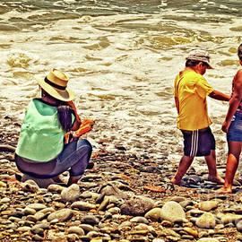 Mary Machare - On The Beach - Lima