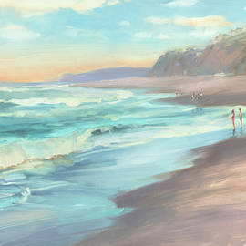 On the Beach by Steve Henderson