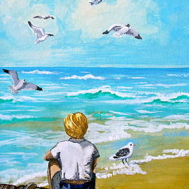 On the Boardwalk by Karon Melillo DeVega