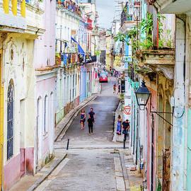 On The Streets of Havana by Viktor Birkus