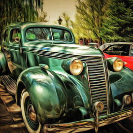 One Cool 1937 Studebaker Sedan by Thom Zehrfeld