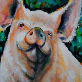 Only a Pig in a Gilded Frame by Jean Cormier