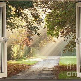 Simon Bratt Photography LRPS - Open window view onto a country