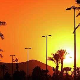 Anna Maloverjan - Orange Andalusian sunset