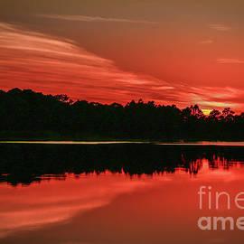 Tom Claud - Orange Cloud Sunset