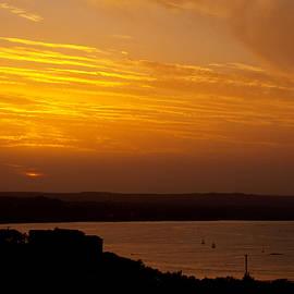 James Granberry - Orange Clouds One