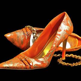 Patti Deters - Orange Shoe Lovely