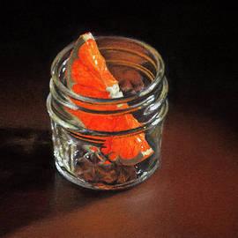 Rebecca Giles - Orange Slice in a Glass Jar