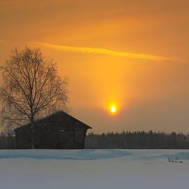 Jukka Heinovirta - Orange Sunrise Sky