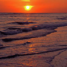 D Hackett - Orange Sunset
