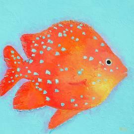 Jan Matson - Orange Tropical Fish