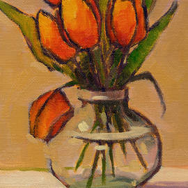 Konnie Kim - Orange Tulips