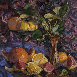 Oranges and grapefruits by Sergey Sovkov