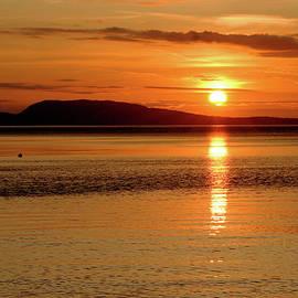 Art Block Collections - Orcas Island Sunset