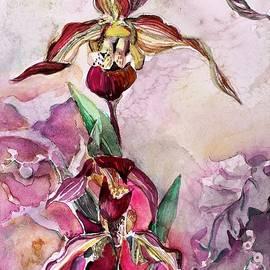 Mindy Newman - Orchid Slipper Foot