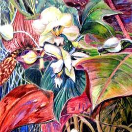 Mindy Newman - Orchids in White
