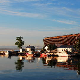 Ore Dock in Marquette by U P Image