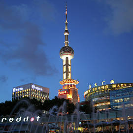 Oriental Pearl Television Tower by Derrick Neill