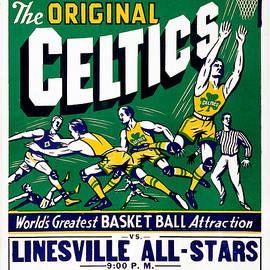 Original Celtics Vintage Poster by John Farr