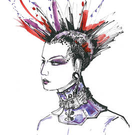 Punk Rock Girl  by Marian Voicu