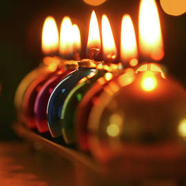 Ornament Candles by Derrick Neill
