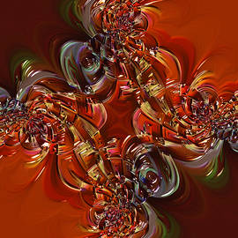 Ornamental   Abstract by Grace Iradian