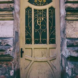 Ornamented Doors In Light Brown Color by Jaroslaw Blaminsky