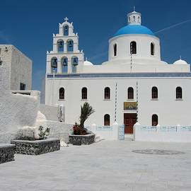 Yuri Hope - Orthodox Church on Santorini island
