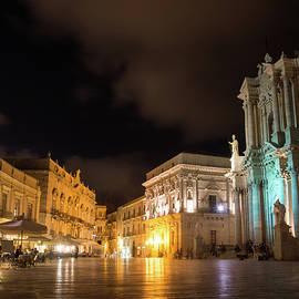 Georgia Mizuleva - Aristocratic Square - Piazza Duomo in Ortygia Syracuse Sicily