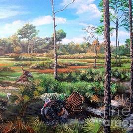 Osceola Turkeys and Florida Panther - Life  After the Burn
