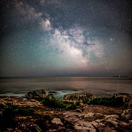 Brent L Ander - Otter Point Under the Stars.