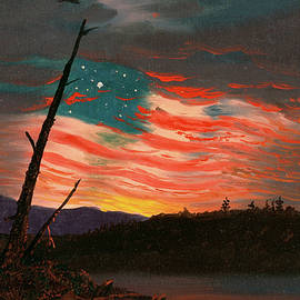 Our Banner in Sky - Frederic Edwin Church